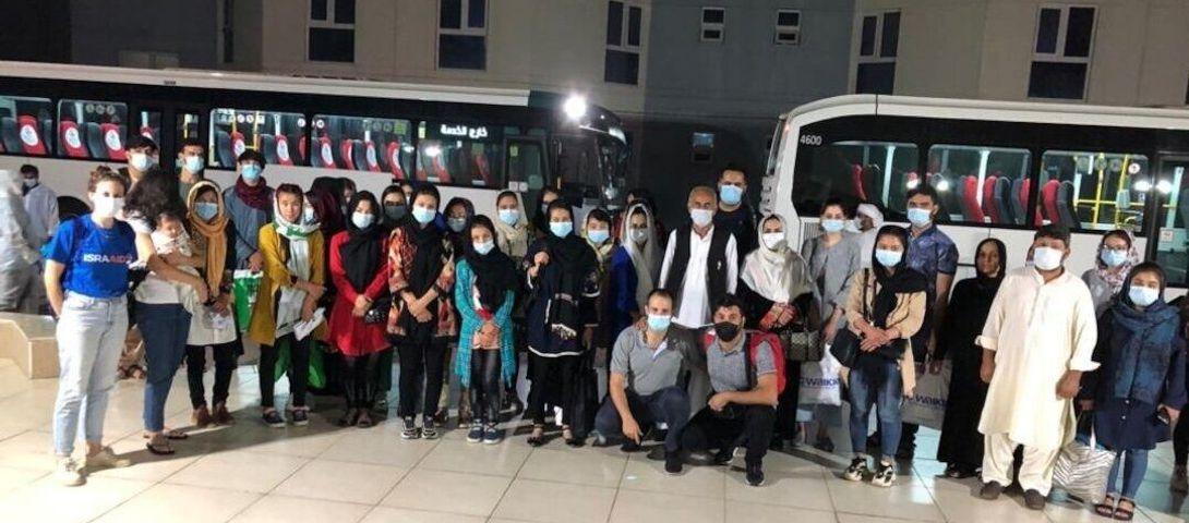 Israeli philanthropists help dozens flee Afghanistan for United Arab Emirates – The Forward