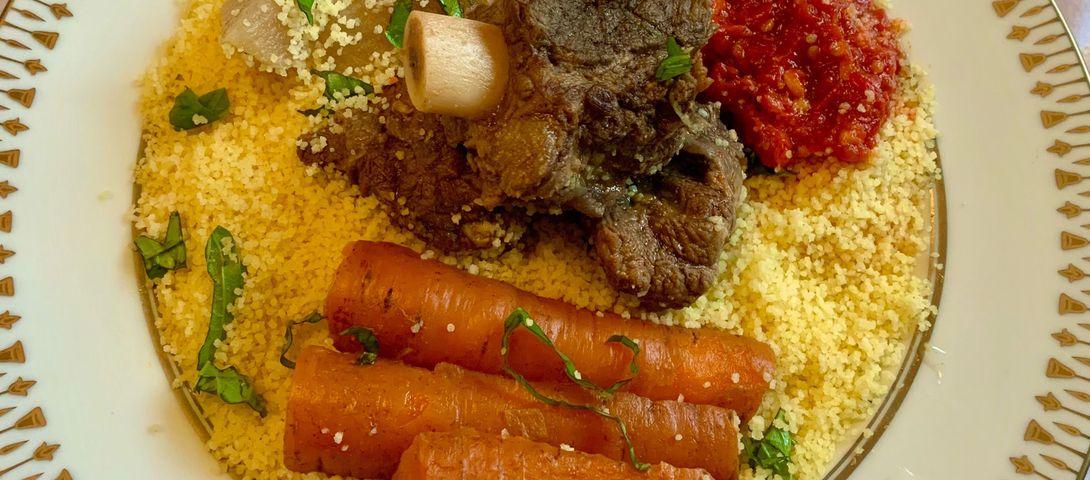 My Aunt S Tunisian Couscous With Beef I Tweetyourshabbat The Forward