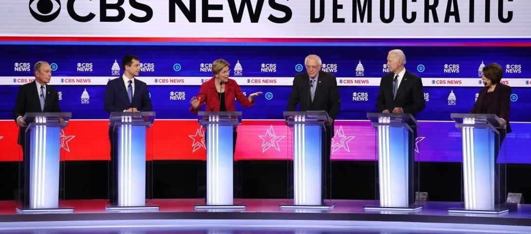 Sanders, Bloomberg take the heat and present contrasts on Israel in latest Democratic debate