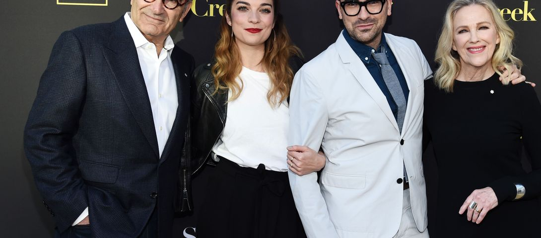'Schitt's Creek' and all things Jewish from a very socially-distaced Emmys