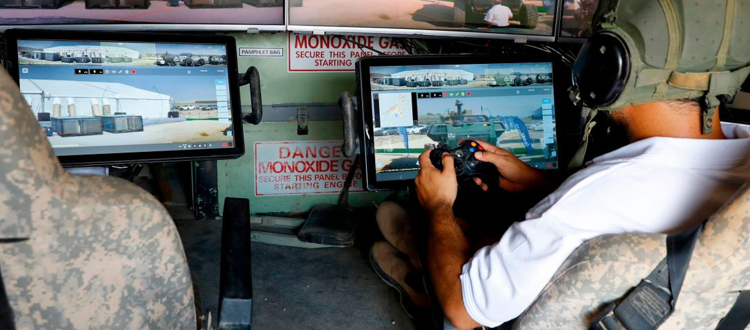Israel made a gamer-friendly tank
