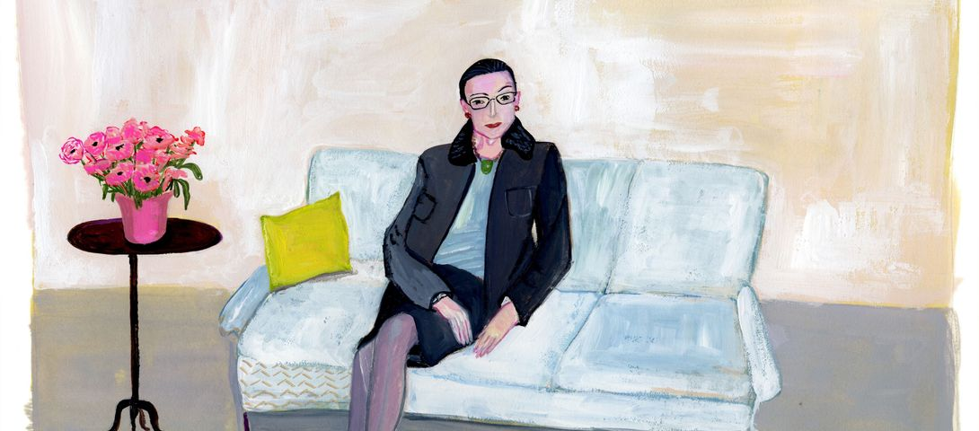 RBG the icon can be truly inspiring, but only after a little soul-searching.