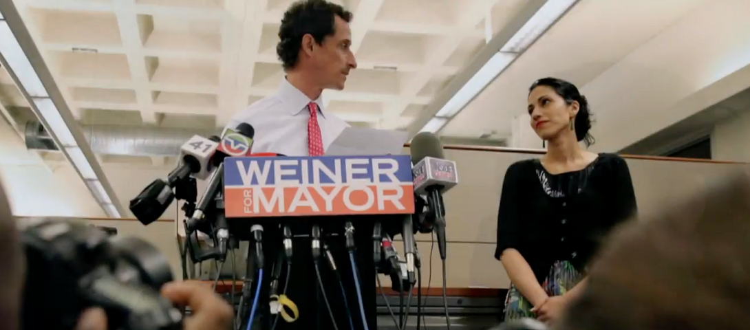 Anthony Weiner Once Had a Huge Crush on Huma Abedin – The