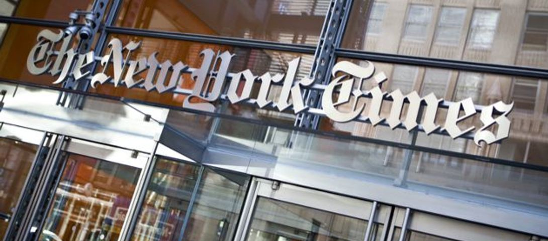 Amid crisis, New York Times posts job for Palestinian affairs reporter