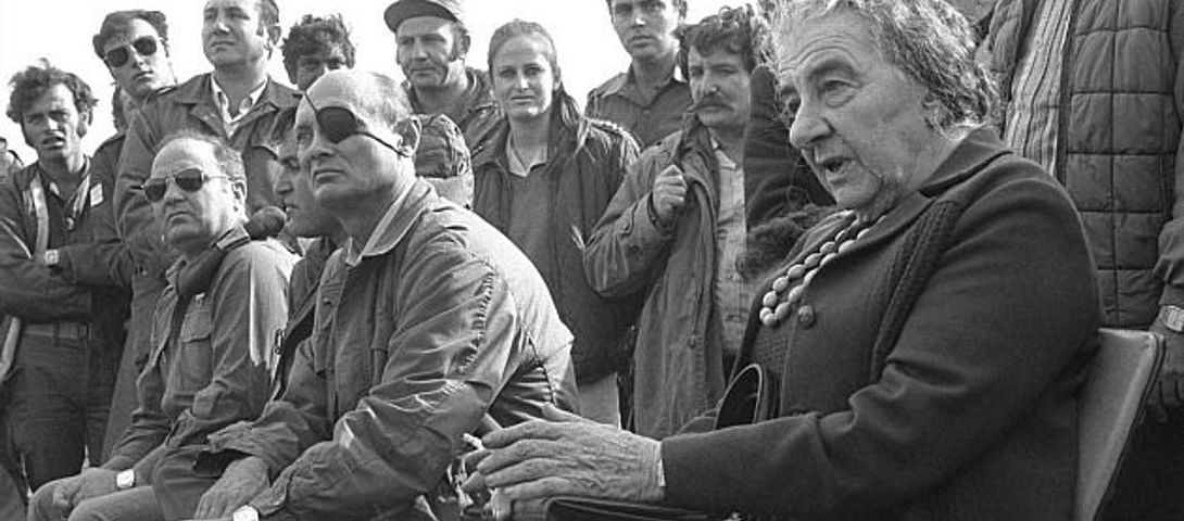 Golda Meir Turned Down Nuclear Option in 1973 Yom Kippur ...