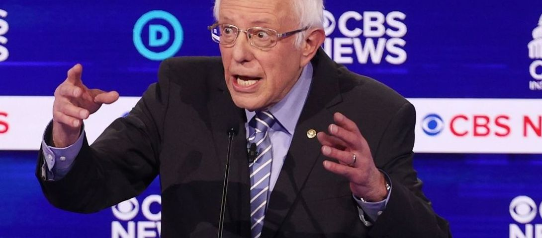 Sanders at debate: I'm proud of being Jewish, but Netanyahu a 'reactionary racist'