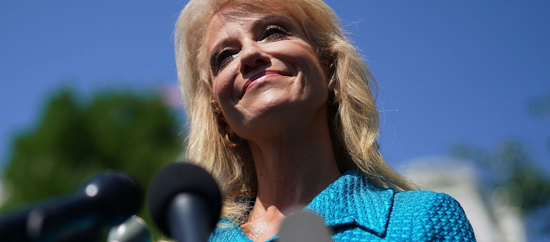 Kellyanne Conway Asks Jewish Reporter 'What's Your Ethnicity?'