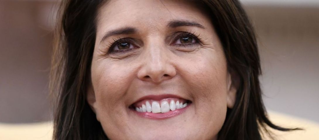 With High Heels And A Big Smile, Nikki Haley Schmoozes Israel