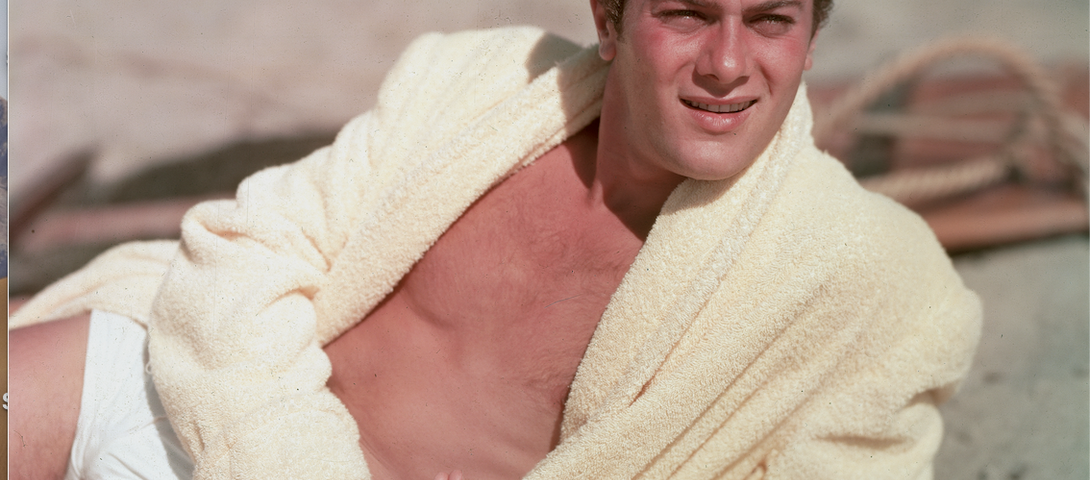 The gorgeous desperation of Tony Curtis — an actor who never played it straight