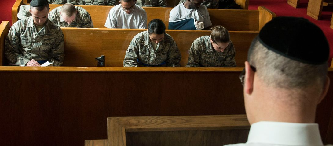 Celebrating The Jewish Sabbath On An Air Force Base – The