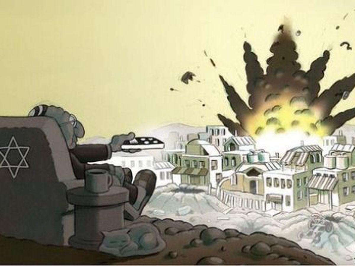 Does Australia Gaza War Cartoon 'Vilify' Jews? – The Forward