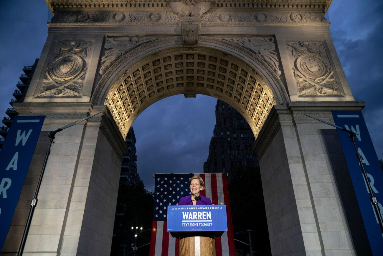 Elizabeth Warren Just Took New York By Storm - With Jewish History