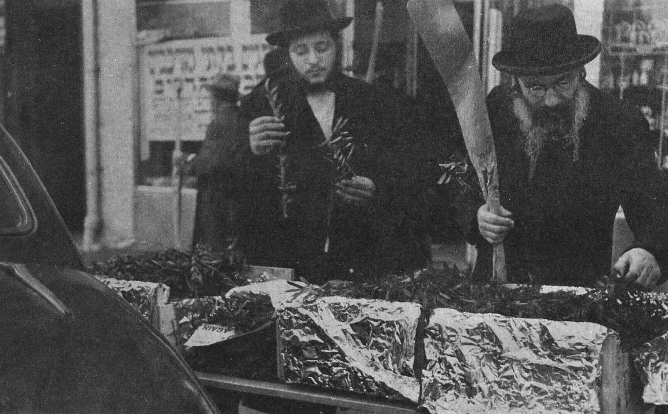 From the Archives: Sukkot Through the Ages