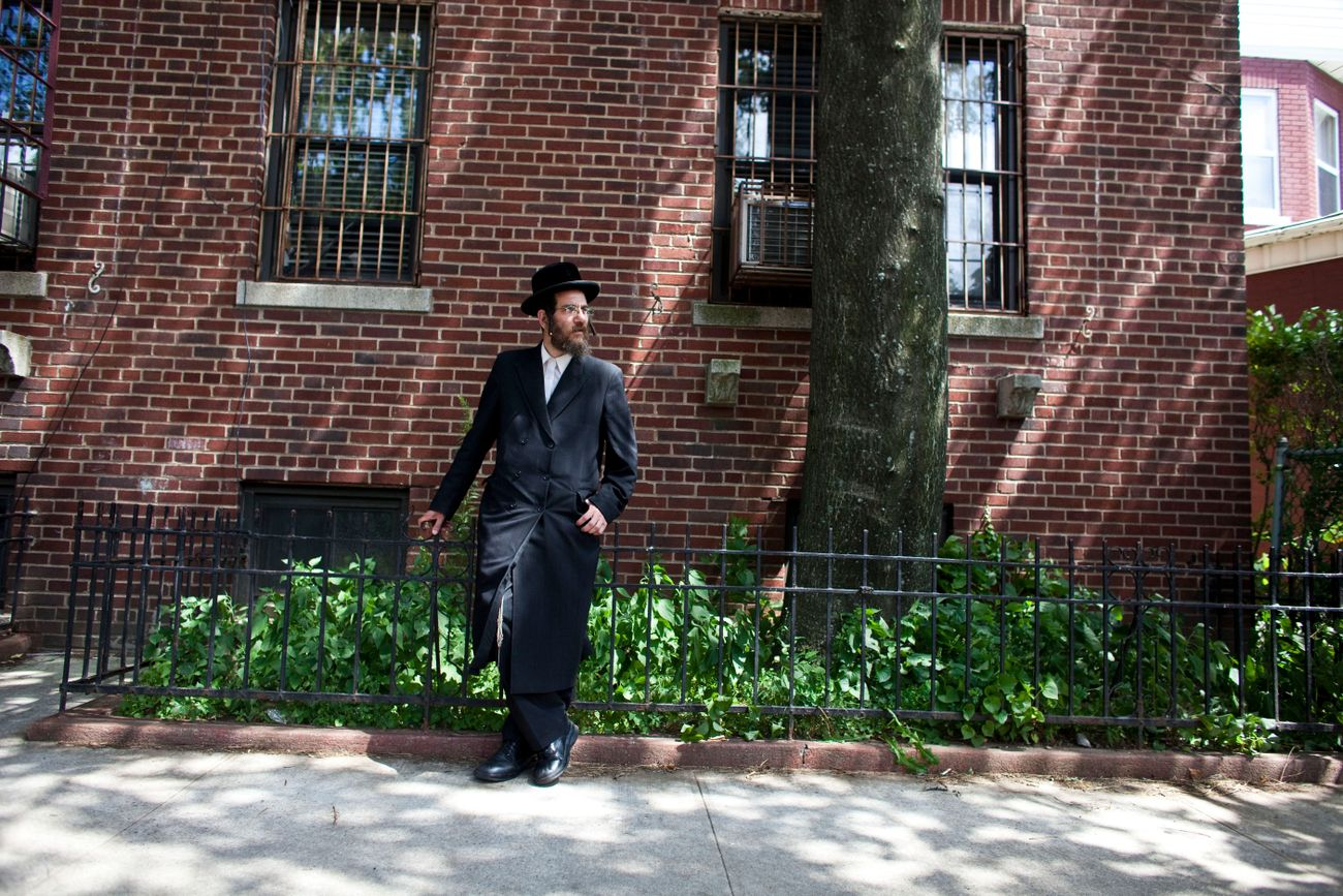 Why Do Hasidic Men Button Their Shirts The Wrong Way?
