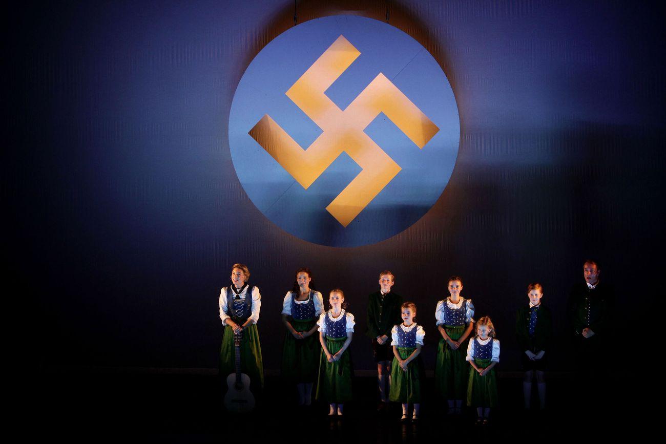 LaGuardia's 'Sound Of Music' Scraps Swastikas – The Forward