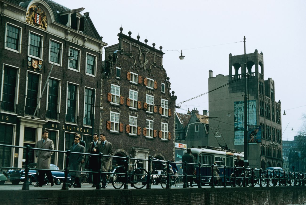In Amsterdam, borne back ceaselessly into a Jewish past