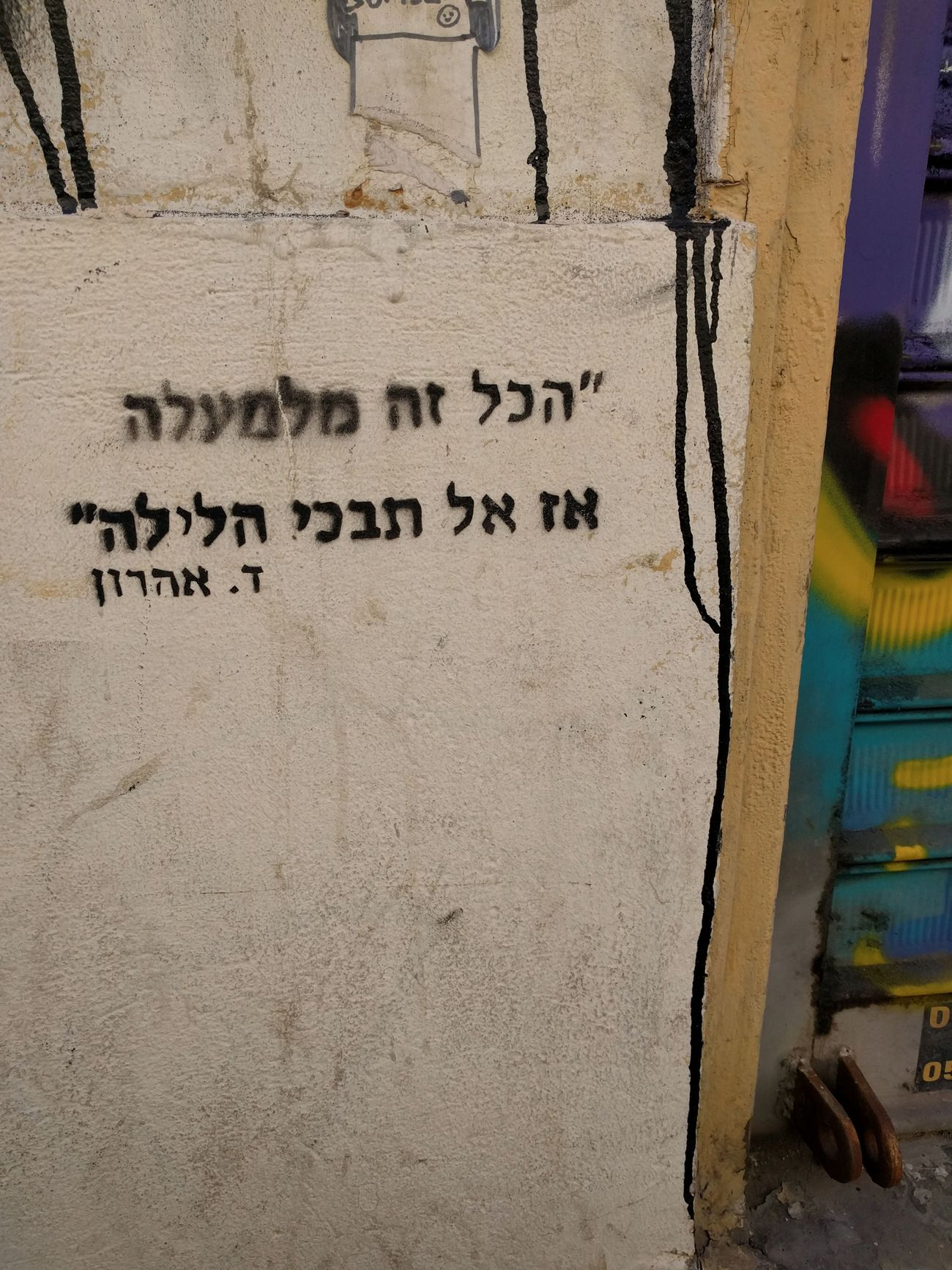 How to deconstruct the graffiti in tel avivs hippest neighborhood