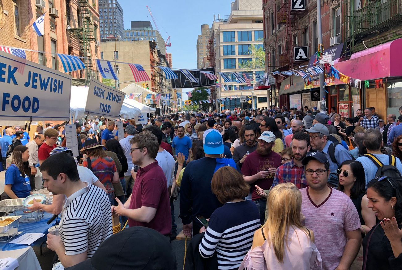 This Big Fat Greek-Jewish Street Festival Is Actually An Amazing Party