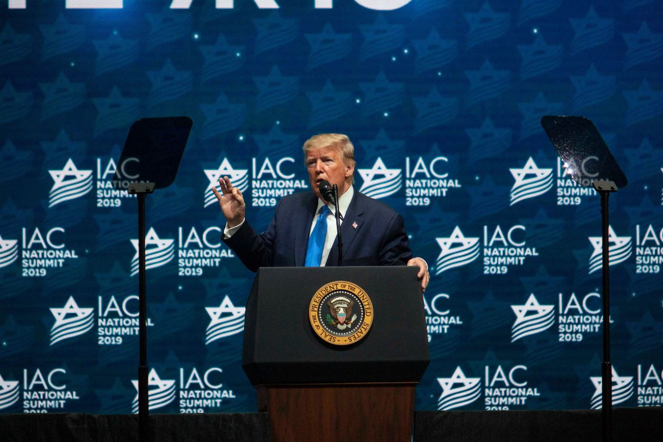 Trump Slams Jews Who 'Don't Love Israel Enough' In Speech To Israeli-Americans