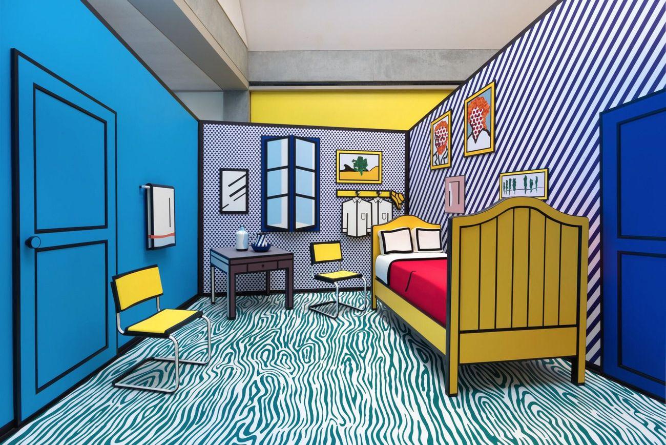 How Jewish Comic Book Heroes Inspired Roy Lichtenstein's