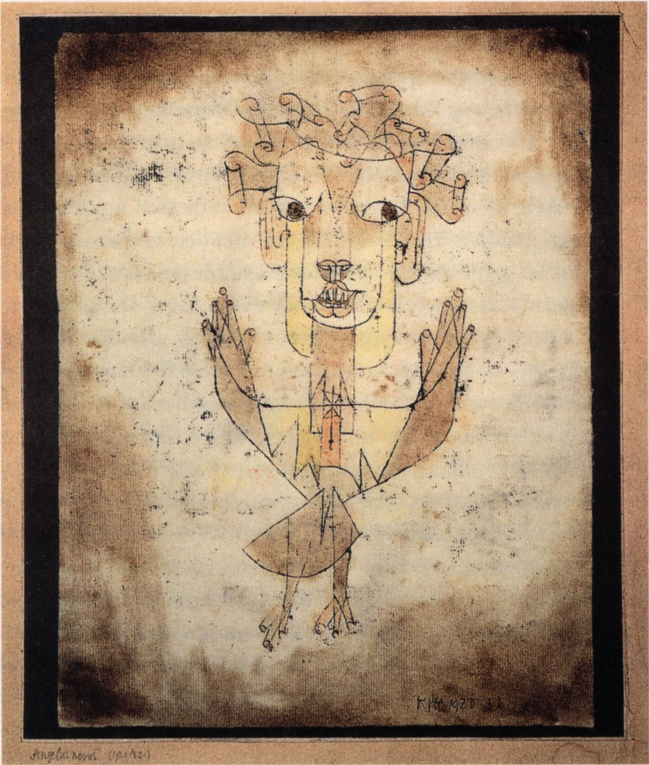 This Paul Klee drawing was Walter Benjamin's favorite — did he understand it?