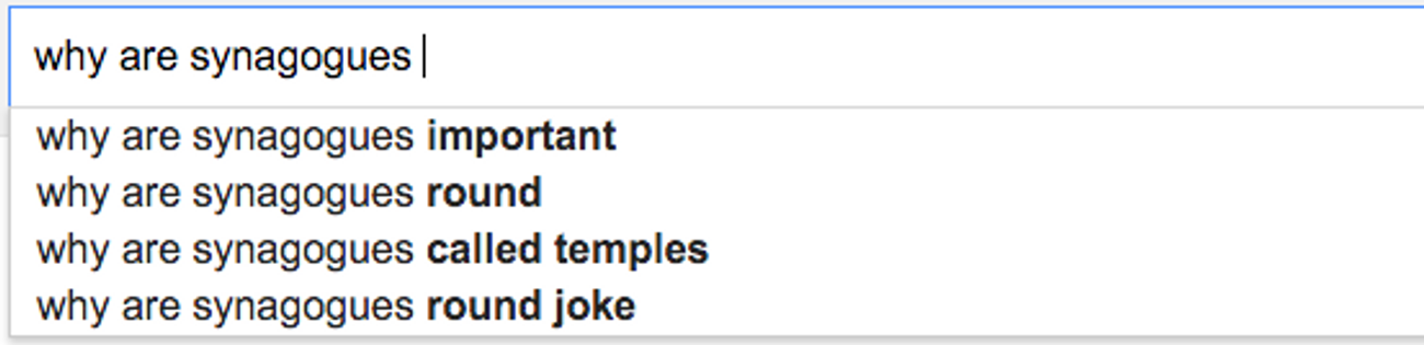 Why Are Jews So Rude? And Other Google-Fueled