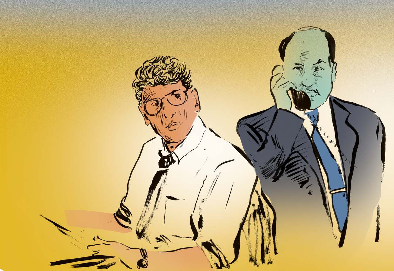 A Tale Of David Simon And Two Jewish Lawyers The Forward