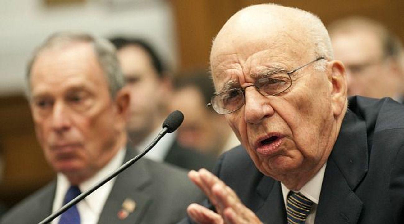Rupert Murdoch Slams Jewish Owned Media Bias - The Forward