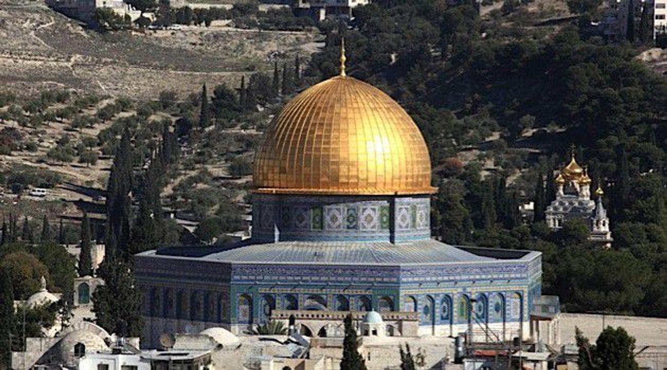 Jerusalem Grand Muft Denies Jewish History of Temple Mount ...