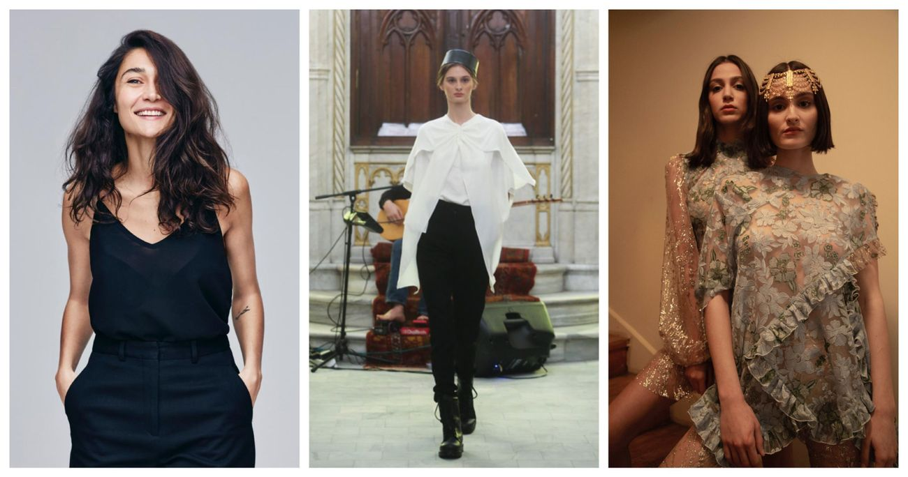 Why This Turkish Fashion Designer Chose A Former Synagogue For Her Runway Backdrop The Forward