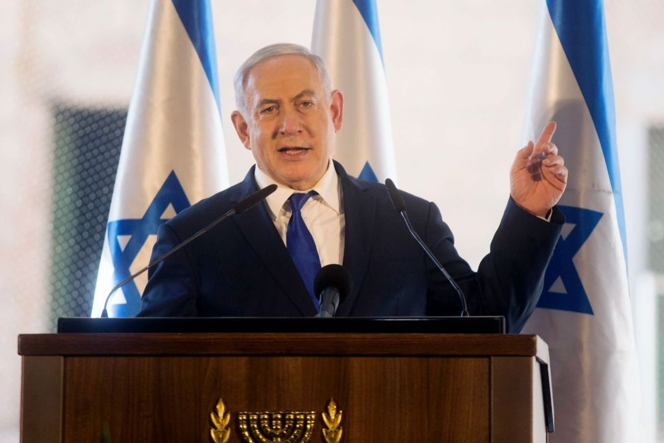 Netanyahu Promises To Annex West Bank Settlements If Re-Elected