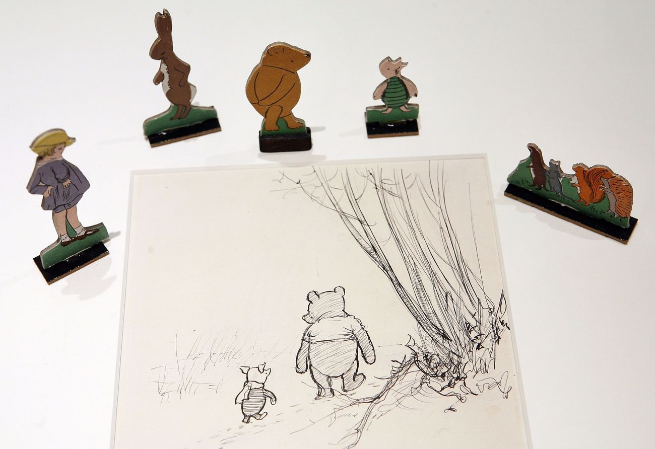 There's something very Jewish about Winnie-The-Pooh — and it's not just Eeyore's attitude