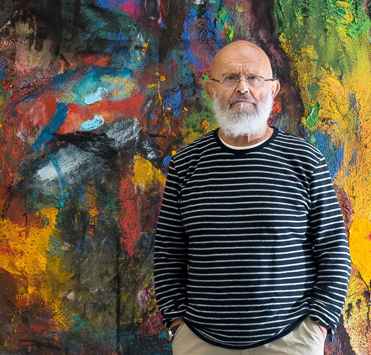Jim Dine On His Jewish Fate And The Fate Of The Jews