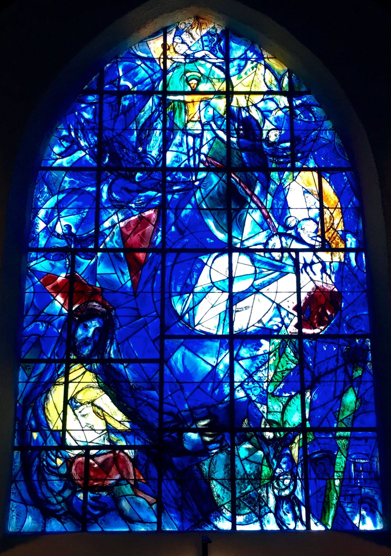 Rediscovering Marc Chagall's Least-Known American Windows