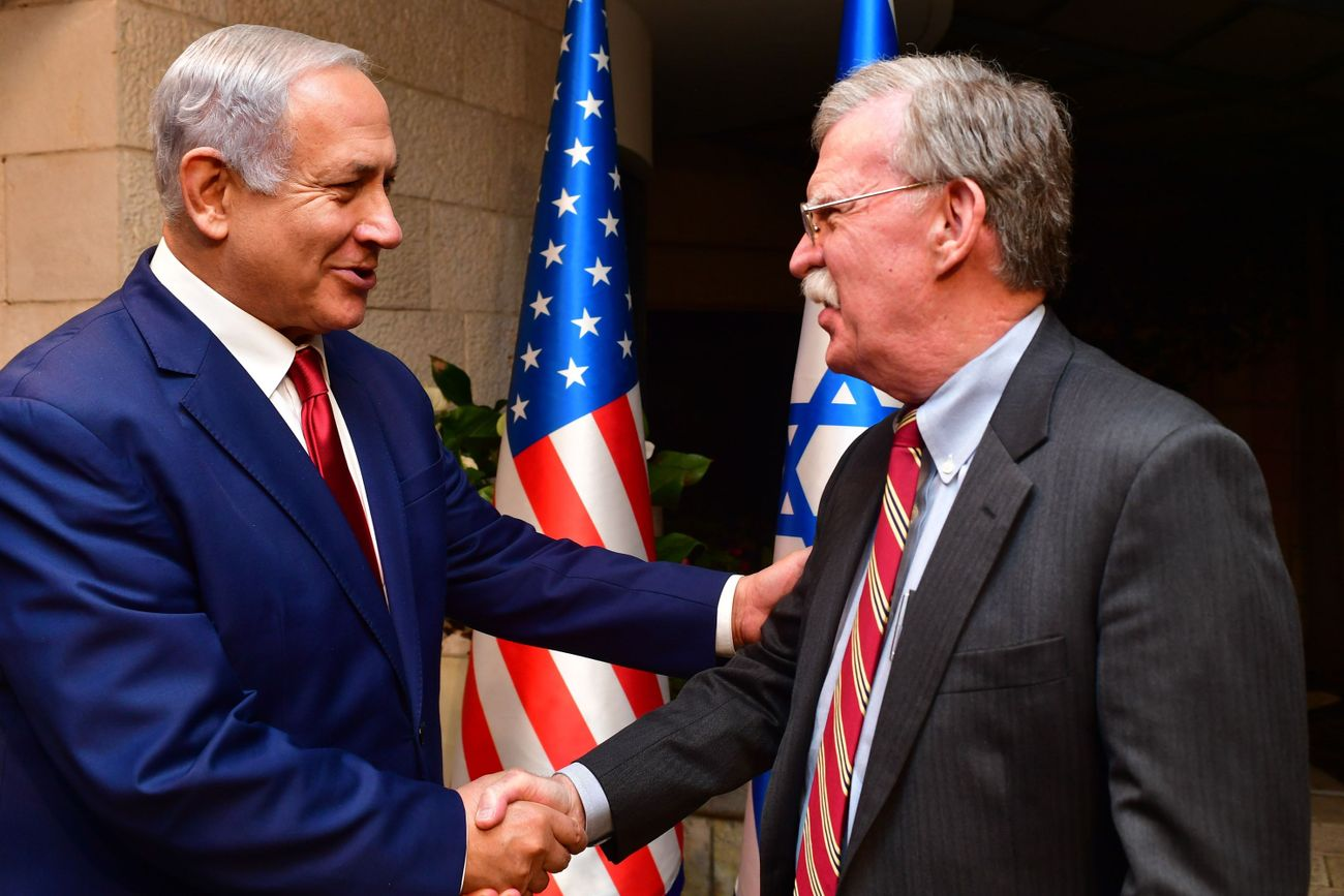 What John Bolton's Firing Means For Israel — And Bibi's Reelection Chances