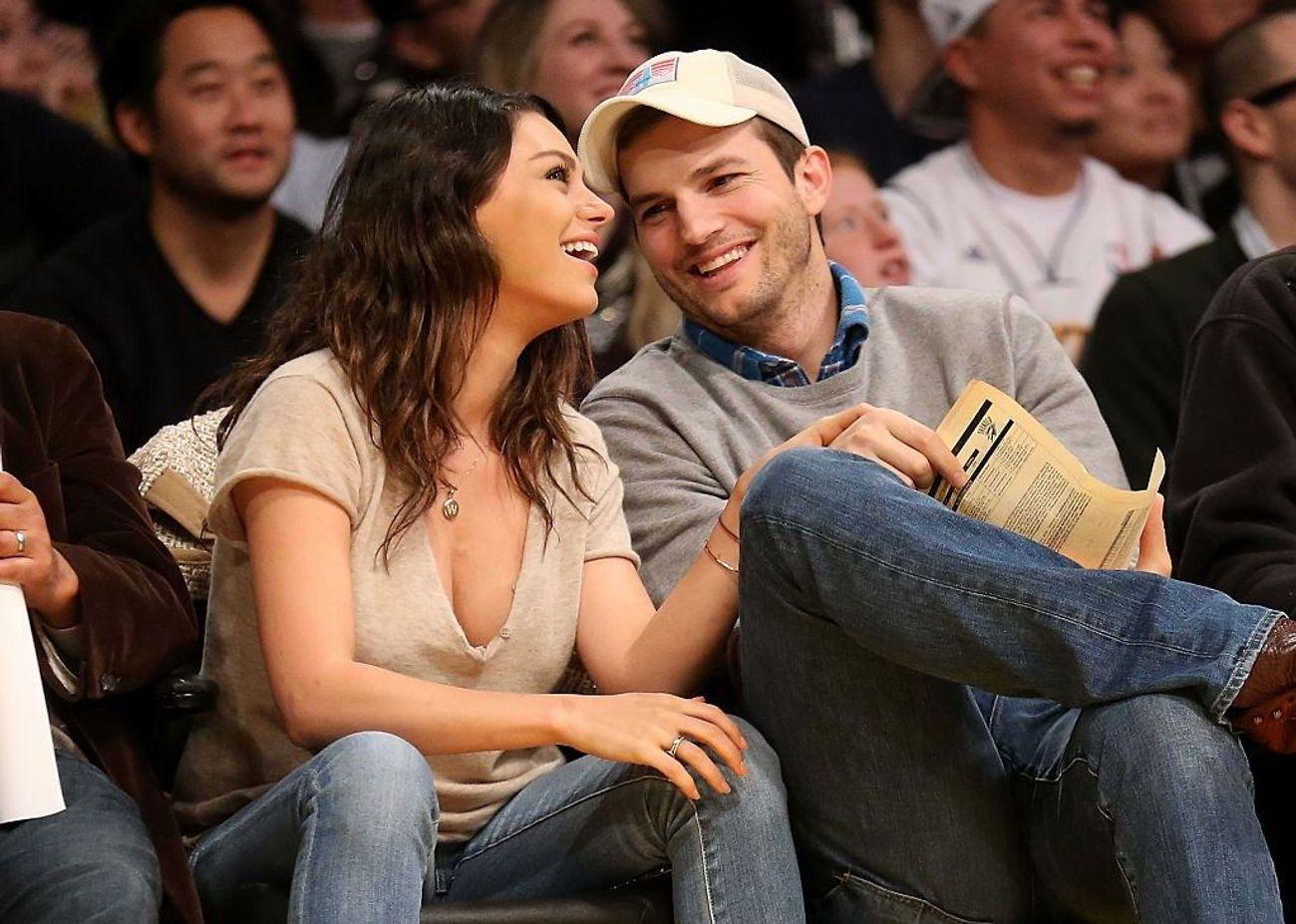 Mila Kunis: How She And Ashton Kutcher Fell In Love – The Forward