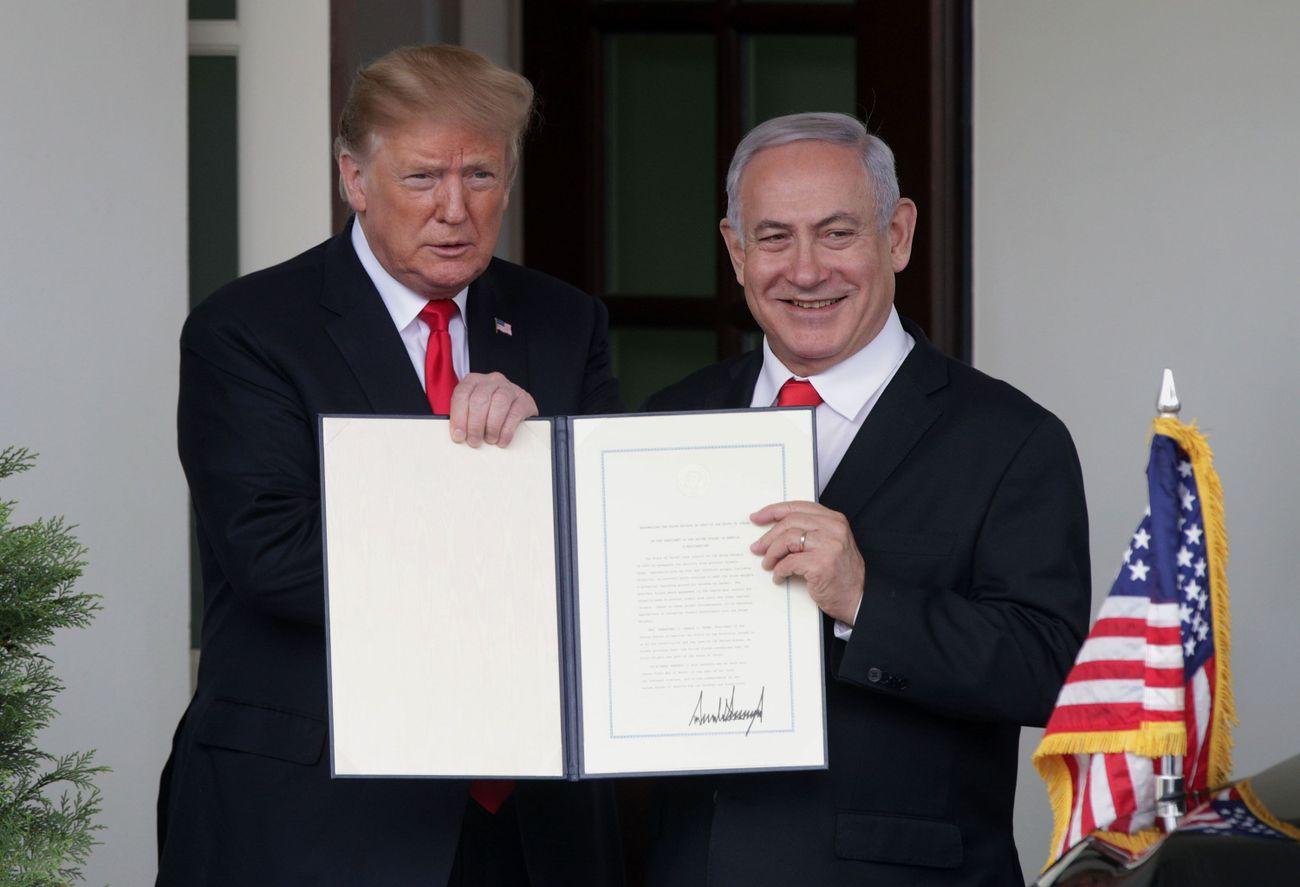 Israeli Locals Aren't Happy That Bibi Is Renaming Their Town After Trump
