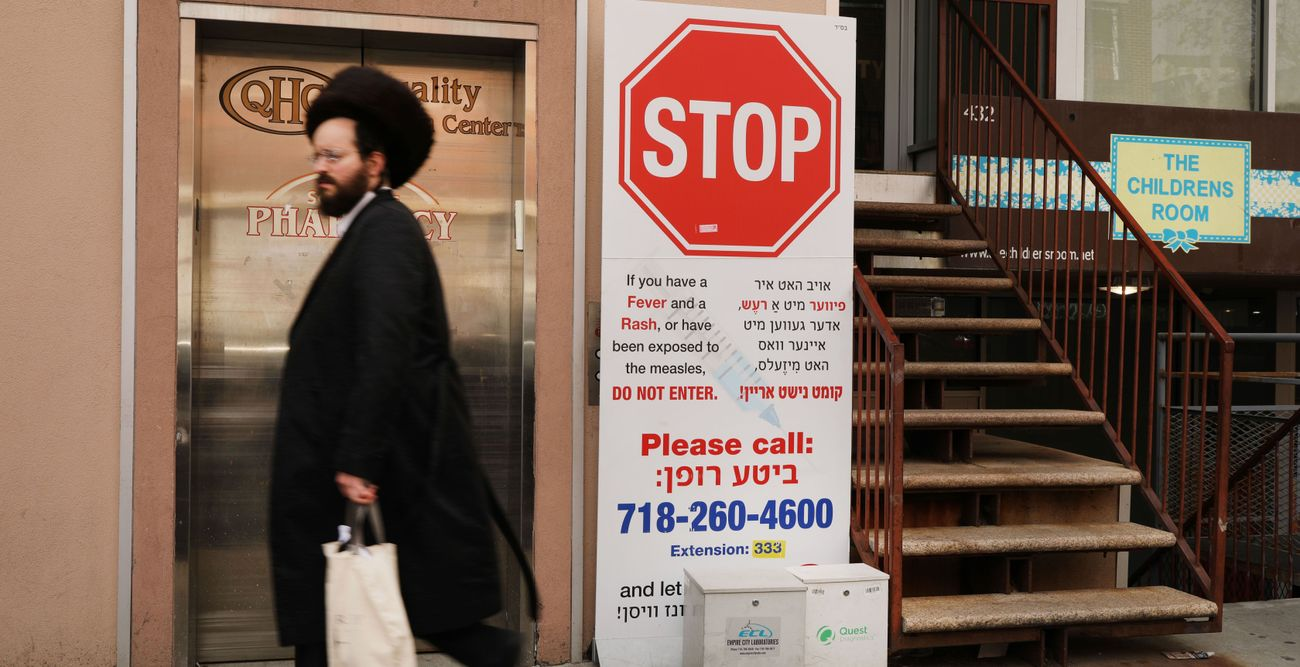 This Rabbi Leads Hasidic Opposition To Vaccines - And Many Are Listening