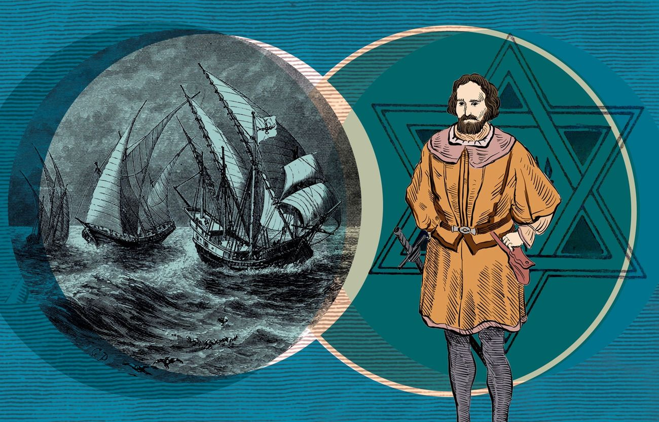 How Columbus Brought America Its First Jew