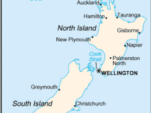 Where Is Wellington New Zealand On The Map.New Zealand Apologizes For Printing Map Without Israel The Forward