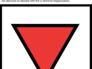 Hitlers Nazi Symbol gehen Sozialisten