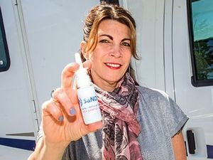 Israeli scientist Dr. Gilly Regev developed the spray with Dr. Chris Miller. by the Forward