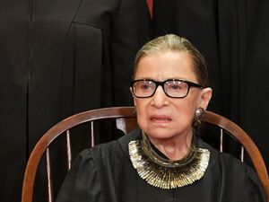 RBG Reads Out Loud Her Dissent To Ruling Allowing 40-Foot Cross On Public Land