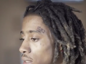 4b385b3aa886a Rapper Lil Twist Gets 'Loyal' Tattooed on His Face — In Hebrew