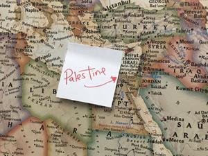 Israel Relabeled As 'Palestine' On Rashida Tlaib's Map – The Forward
