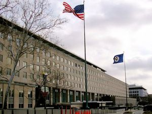 U.S. State Department building, Washington, D.C. by the Forward