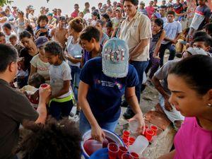 Israeli Group Distributing Aid To Venezuelan Refugees