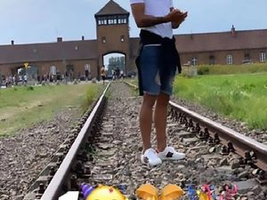 Uruguayan Soccer Star Apologizes Over Emoji-Filled Birthday Photo At Auschwitz