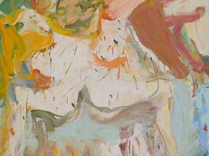 The Visit, by de Kooning by the Avant