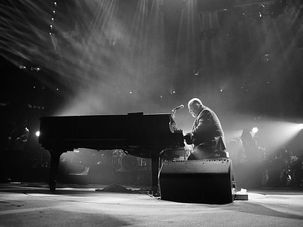 Billy Joel performs at Madison Square Garden. by the Forward